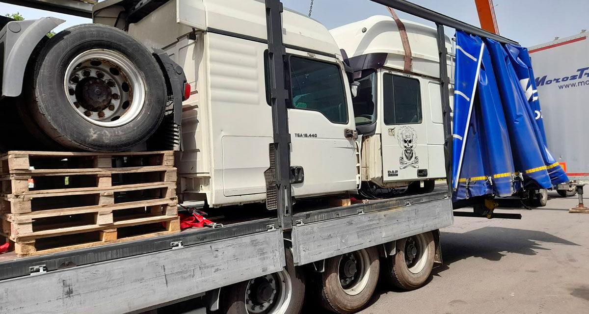 Отправка автомобилей в Томск